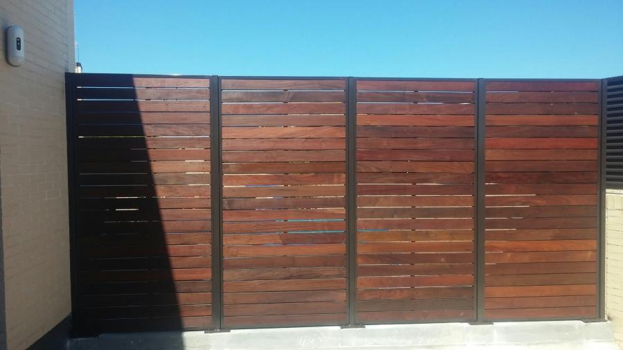 Vallas de madera carpinteros madrid for Vallas decorativas